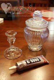 Agape Love Designs: Dollar Tree Apothecary Jar DIY