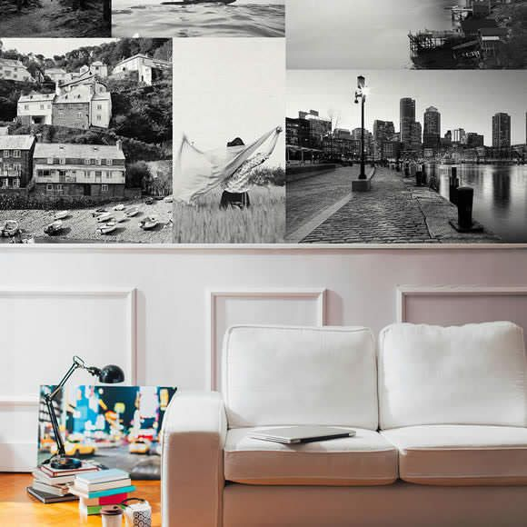 Peel & Stick Fabric Posters are the perfect way to bring some style to your space without breaking the bank. And unlike vinyl, they're odor free and a breeze to apply.