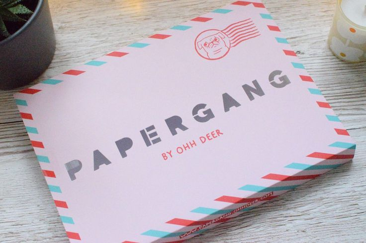 Papergang August Review | Gemma Correll Stationery | Stationery Subscription Box