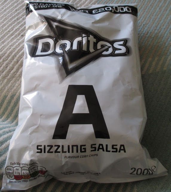 FOODSTUFF FINDS: New Doritos A - Sizzling Salsa (Waitrose) [By @Cinabar]
