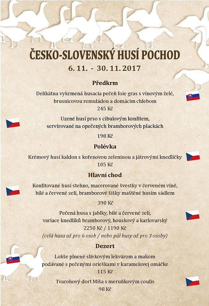 Česko-slovenský husí pochod - nejlepší svatomartinská husa v Praze - Restaurace Selský Dvůr