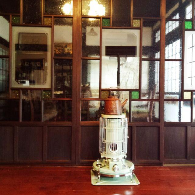 RoomClipに共有された「大正ロマン風×ステンドグラス建具」に関連する部屋のインテリア実例は 3 枚あります。