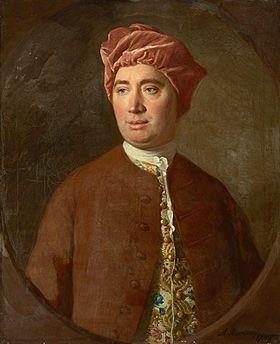 David Hume1 (7 mai 17112 - 25 août 1776) est un philosophe, économiste et historien britannique. Il est considéré comme un des plus importants penseurs des Lumières (avec Adam Smith et Thomas Reid) et est un des plus grands philosophes et écrivains de langue anglaise3. Fondateur de l'empirisme moderne (avec Locke et Berkeley), l'un des plus radicaux par son scepticisme, il s'opposa tout particulièrement à Descartes et aux philosophies considérant l'esprit humain d'un point de vue…