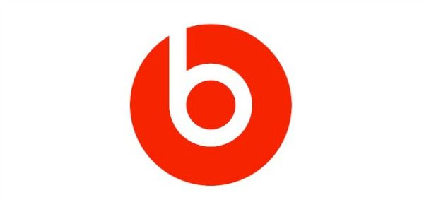 Beats, b as a headphone for the red circle(human head).