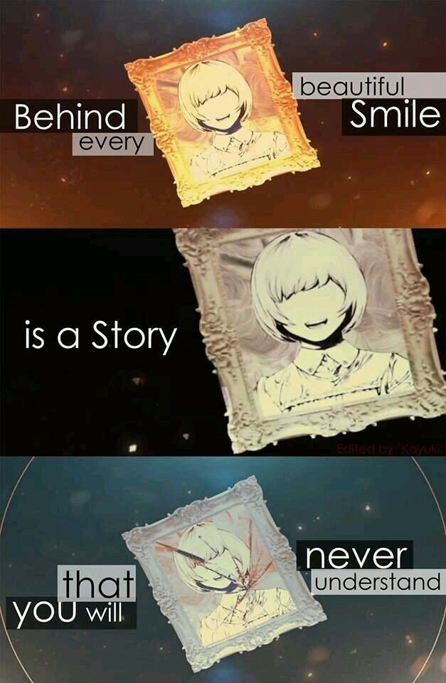 The story that lies deep within...
