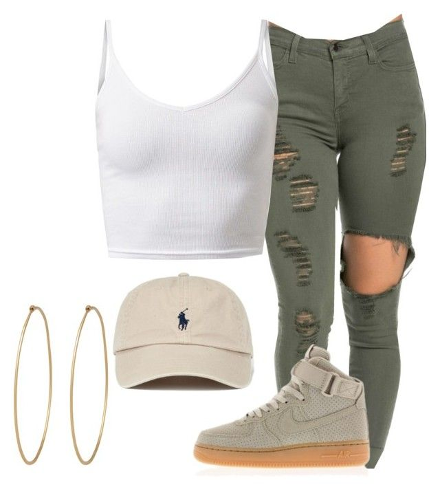 """Untitled #109"" by fingerfckmyswag ❤ liked on Polyvore featuring NIKE and Social Anarchy"