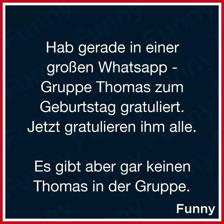 Hab Gerade Thomas Zum Geburtstag Gratuliert .