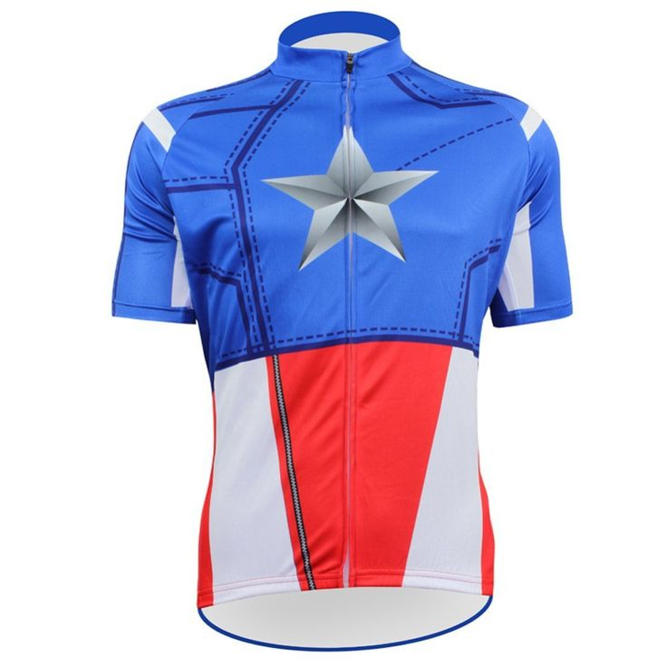 2017 blue star Pro Team Cycling Jersey clothes Ropa Ciclismo Quick-Dry Sports Jersey Cycling Clothing Bike Wear Mtb Jersey shirt #Affiliate