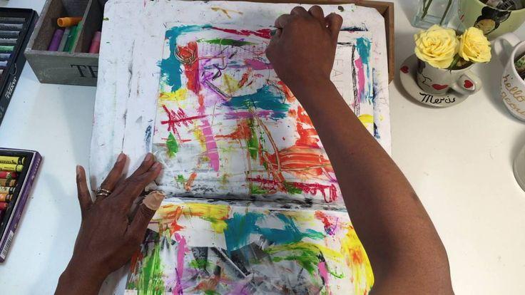 What Is Beauty- Art Journal Process