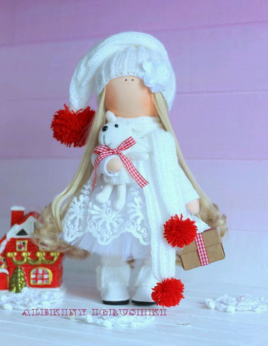 Fabric doll   Куклы тыквоголовки ручной работы. Кукла текстильная ручной работы. Абылгазина Алия. Ярмарка Мастеров. Кукла ручной работы, холлофайбер