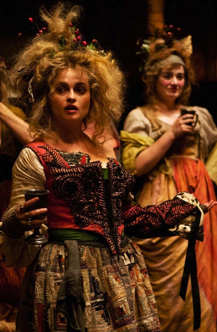 Helena as Madame Thénardier in Les Mis (2012). Costume Designer: Paco Delgado