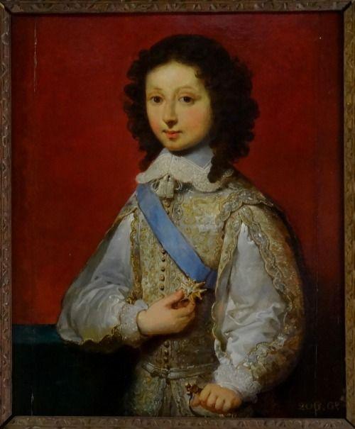 Philippe de France, Monsieur, duc d'Orleans (1640-1701) as duc d'Anjou, circa 1650, French school