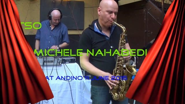 Chillige DJ Sounds & Sax live @ Andino. A perfect mixture for a perfect night-out!