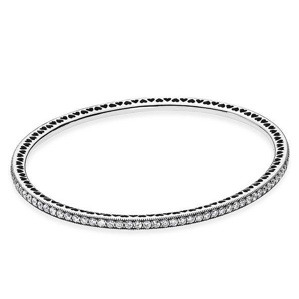 PANDORA Twinkling Forever Bangle Bracelet