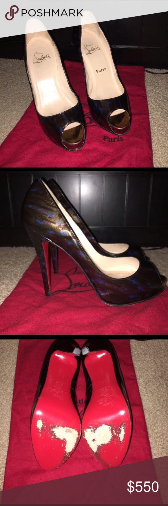 AUTHENTIC Christian Louboutin pumps. AUTHENTIC Christian Louboutin pumps. Used. NO TRADES Christian Louboutin Shoes Heels