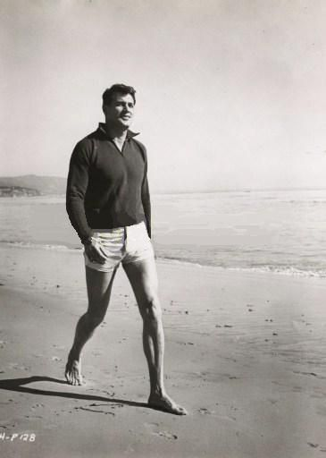 Rock Hudson is the only man that can make shorty-man shorts look sexy!