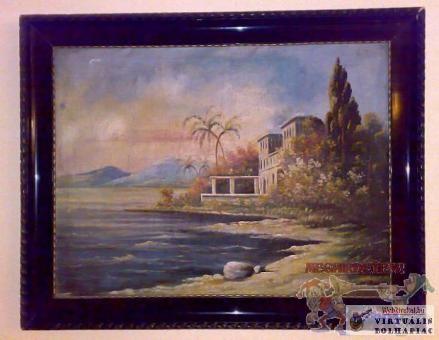 Villa a tenger partján.