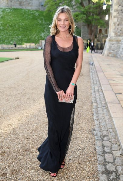 Kate Moss arrives for a dinner to celebrate the work of The Royal Marsden hosted by the Duke of Cambridge at Windsor Castle on May 13, 2014 in Windsor, England.  (Photo by Chris Jackson/Getty Images)  --  Access, discover and share millions of images at *newzcard.com.