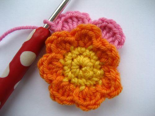 Mejores 72 imágenes de Flores Crochet en Pinterest | Flores de ...