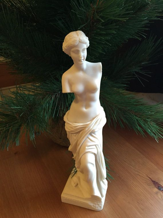 Antique Greek Aphrodite Statue also known as by SageandDeesVintage