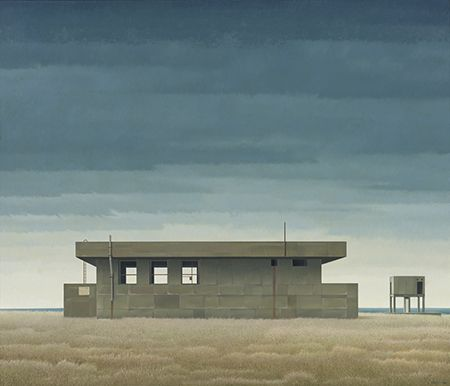 Christopher Pratt - Military Presence 1999