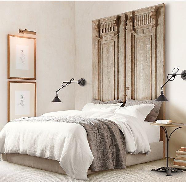 ideas para cabeceros de cama cabeceros hechos con puertas