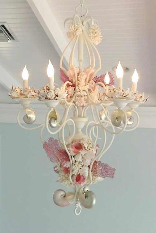 Shabby Chic & 331 best SHABBY CHIC ~ LAMPS u0026 CHANDELIERS images on Pinterest ... azcodes.com