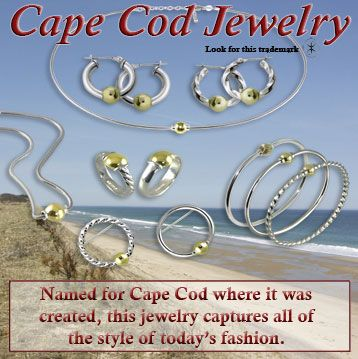 Find the complete collection of Cape Cod traditional, twist or swirl jewelry at http://www.currentsgifts.com/store/premier-cape-cod-jewelery,category.asp