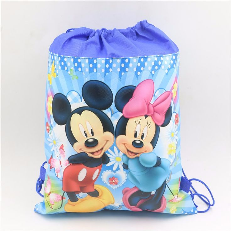 Non-woven Fabric Soy Luna Drawstring Bags Kids Favors Events Gifts Birthday Party Pokemon Decoration Baby Shower supplies 1pcs