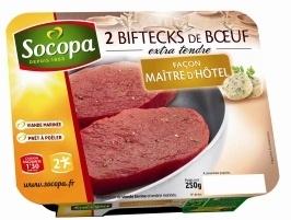 Biftecks de Boeuf marinés