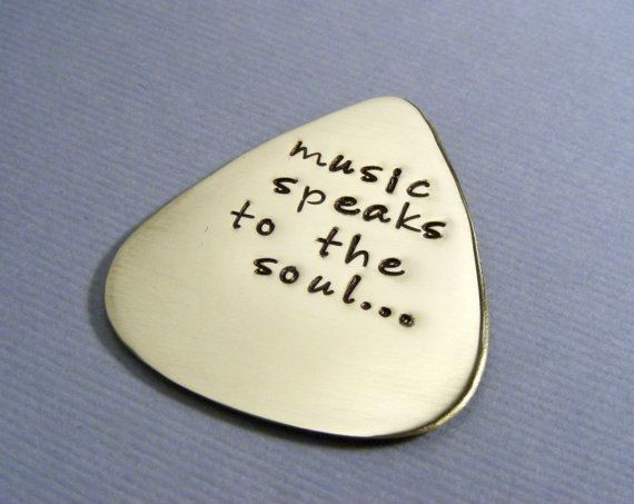 Chris, from kids - Personalized Guitar Pick - Custom Pick For Him - Music Lovers Gift - Mens Gift - Hand Stamped Gift