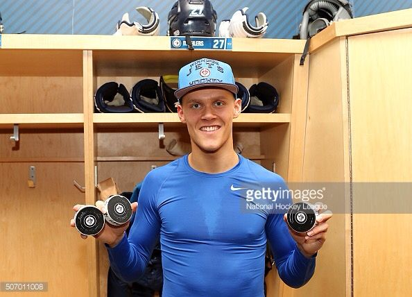 Ehlers!! First NHL hat trick!!