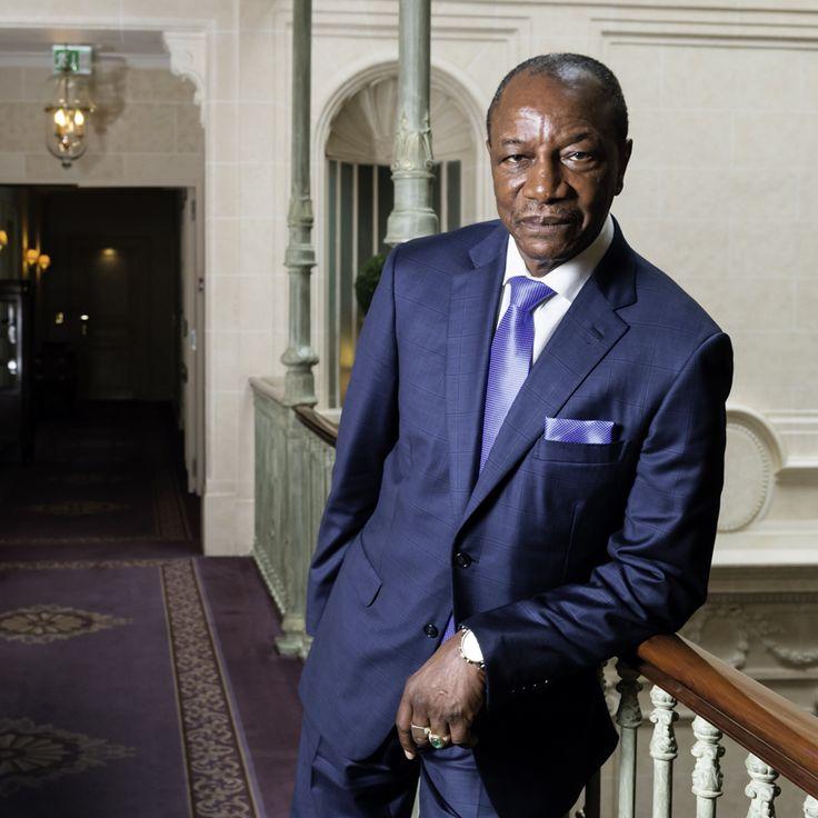 Quand la Guinée rêve de grands barrages. Le président Alpha Condé estime que la Guinée pourrait devenir l'usine de l'Europe. © Lionel Flusin