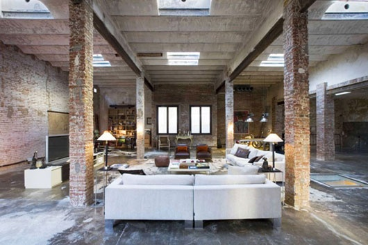 Awesome Interior Warehouse Style