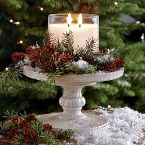 Classic Chic Home: 9 Elegant Christmas Centerpiece Ideas