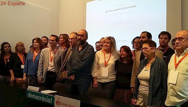 La comunidad educativa catalana llama a la movilización el 1-O