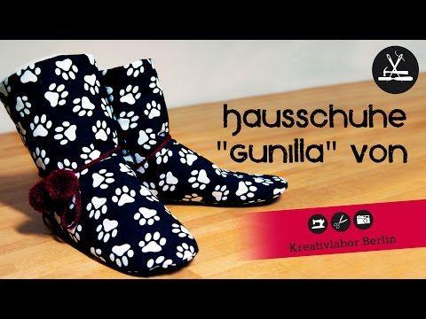 """Hausschuhe """"Gunilla"""" – Kreativlabor Berlin"""
