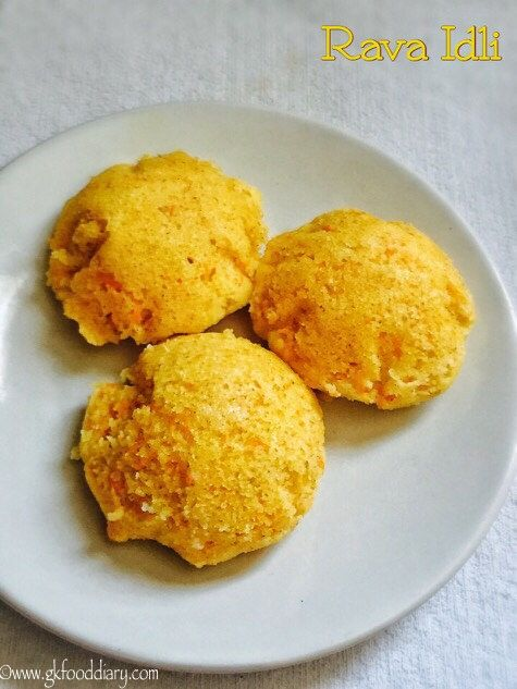 Carrot Rava Idli Recipe For Toddlers And Kids1