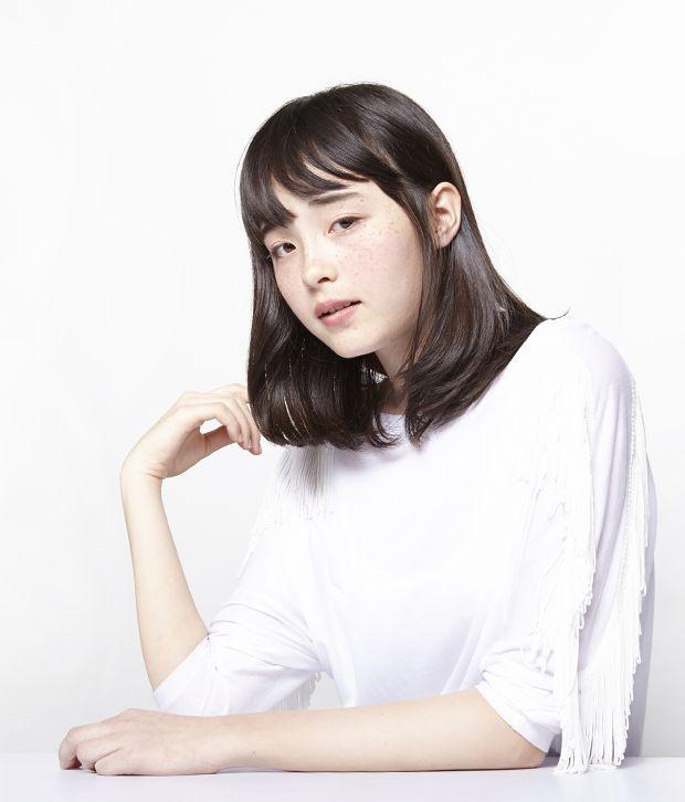 シンプルでイノセントなヘアスタイル - MEDIUM - HAIRCATALOG.JP/ヘアカタログ.JP