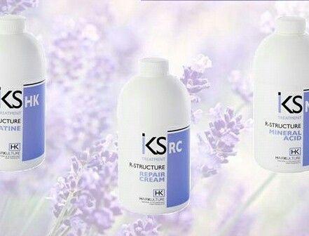 I Ristrutturanti  Iks  per apportare proteine, cheratina e sali minerali ai tuoi capelli.