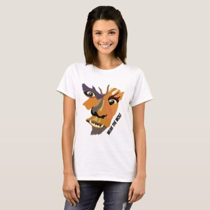 Classic Werewolf Wear the Wolf T-Shirt - classic gifts gift ideas diy custom unique