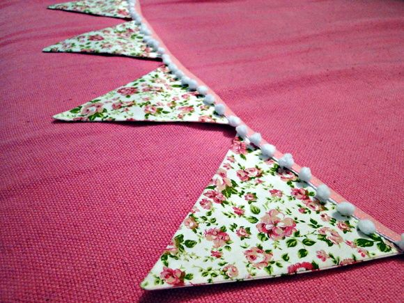 Bandeirinhas de tecido   MIMO Patchwork Contemporâneo   Elo7