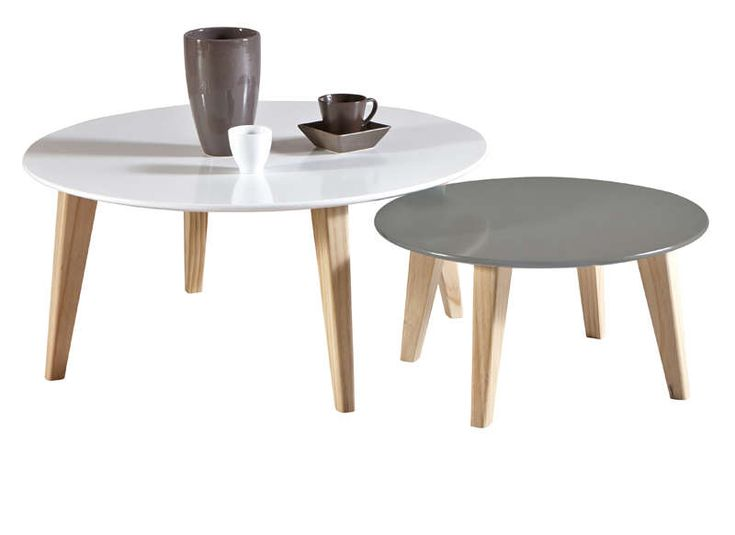 Les 25 meilleures id es de la cat gorie table gigogne for Table basse scandinave la redoute