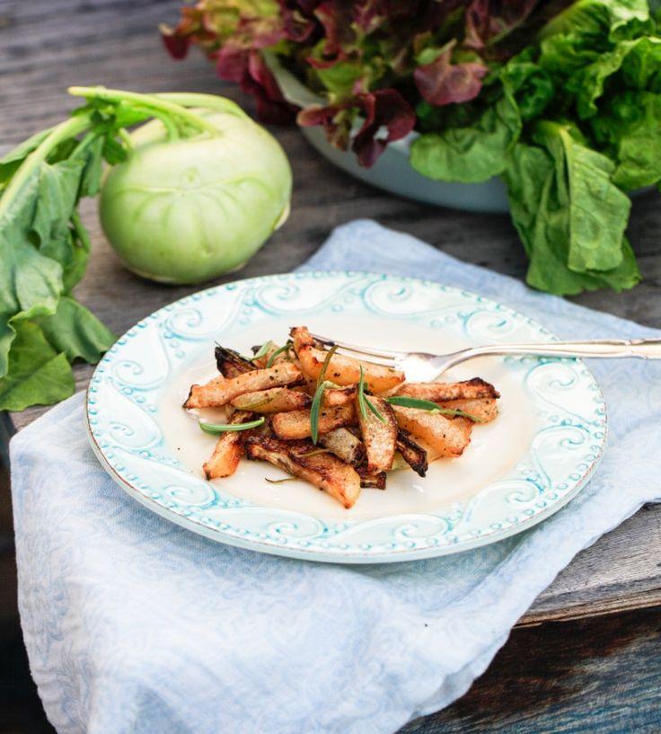 Disse lækre fritter af glaskål er lette at lave, smager fantastisk, og så er glaskål sunde og fyldt med fibre og næring.