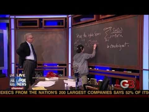 12 Year Old Genius Jacob Barnett on Glenn Beck Jacob was diagnosed with Asbergers at 2