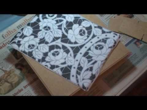 Caixa de Mdf , com a técnica de imitação de RICHELIEU 1a parte -  COM LU HERINGER.Muito bonito!