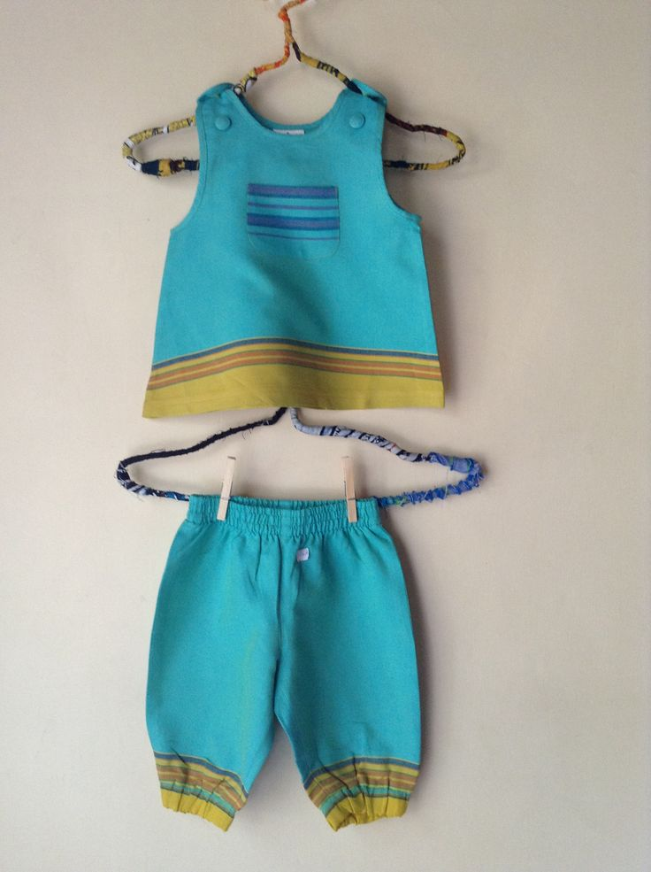 Cute baby two piece