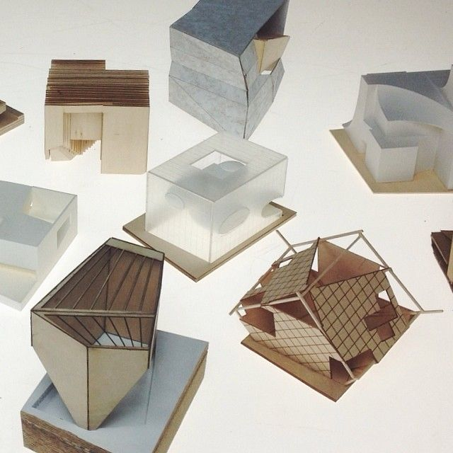 architectural concept models the image