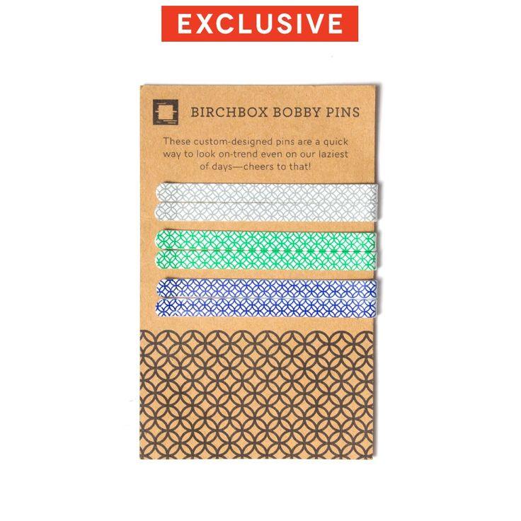Birchbox Bobby Pins - Set of Six, $5.00 #birchbox