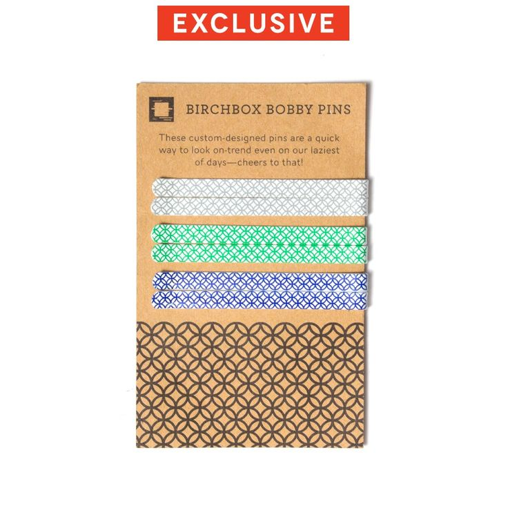 Birchbox Bobby Pins - Set of Six, $5.00 #birchbox